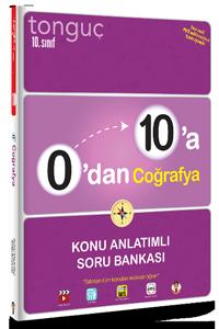 0'dan 10'a Coğrafya Konu Anlatımlı Soru Bankası - Tonguç