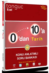 0'dan 10'a Tarih Konu Anlatımlı Soru Bankası - Tonguç
