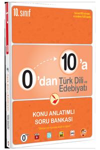 0'dan 10'a Türk Dili ve Edebiyatı Konu Anlatımlı Soru Bankası - Tonguç