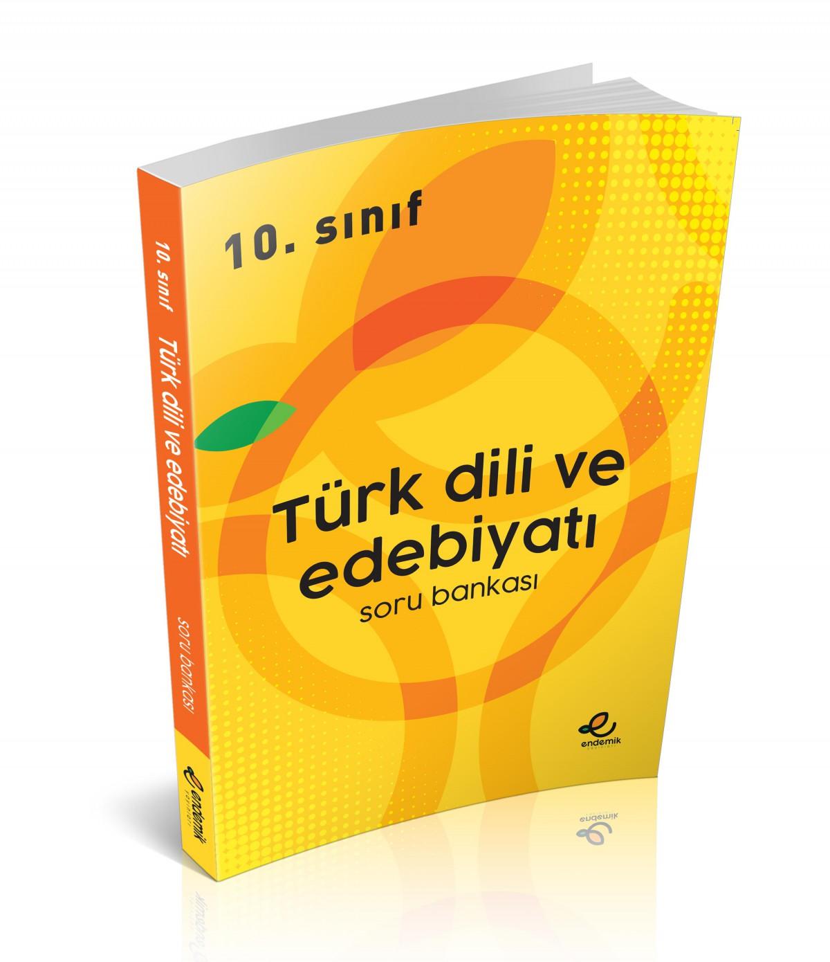 10.Sınıf Türk Dili ve Edebiyatı Soru Bankası - Endemik