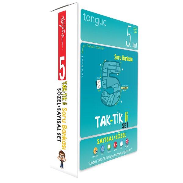 5. Sınıf Taktikli Tüm Dersler Soru Bankası Seti - Tonguç