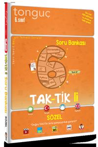 6. Sınıf Taktikli Sözel Soru Bankası - Tonguç