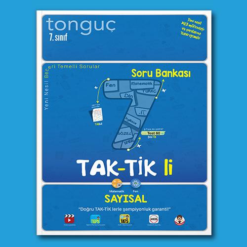 7. Sınıf Taktikli Sayısal Soru Bankası - Tonguç