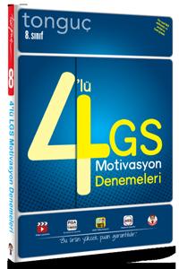 8. Sınıf 4´lü LGS Denemeleri - Tonguç