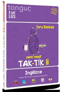 8. Sınıf İngilizce Taktikli Soru Bankası - Tonguç
