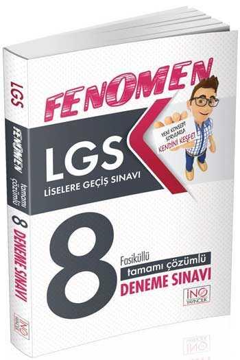 8. Sınıf Lgs Fenomen 8 Fasiküülü Deneme Sınavı - İnovasyon