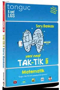 8. Sınıf Matematik Taktikli Soru Bankası - Tonguç