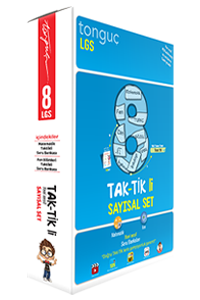 8. Sınıf Taktikli Sayısal Set - Tonguç
