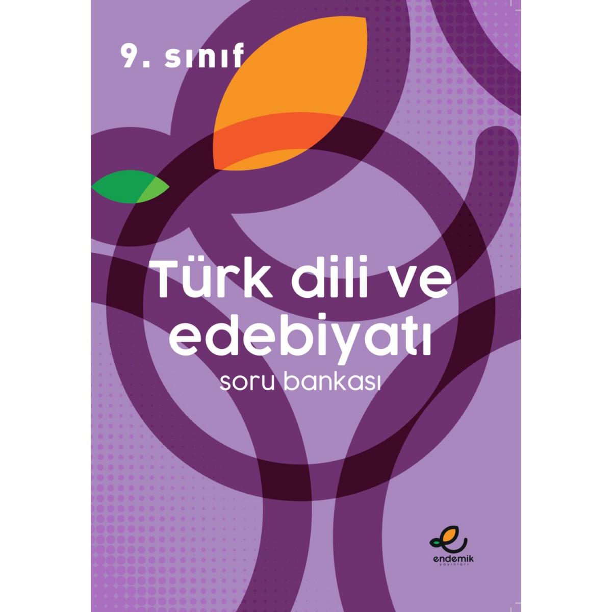 9.Sınıf Türk Dili ve Edebiyatı Soru Bankası - Endemik