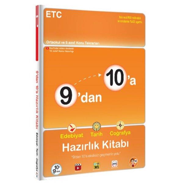 9'dan 10'a Edebiyat Tarih Coğrafya Hazırlık Kitabı - Tonguç