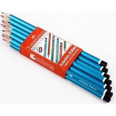 Faber Castell 12 Li Mavi Kurşun Kalem