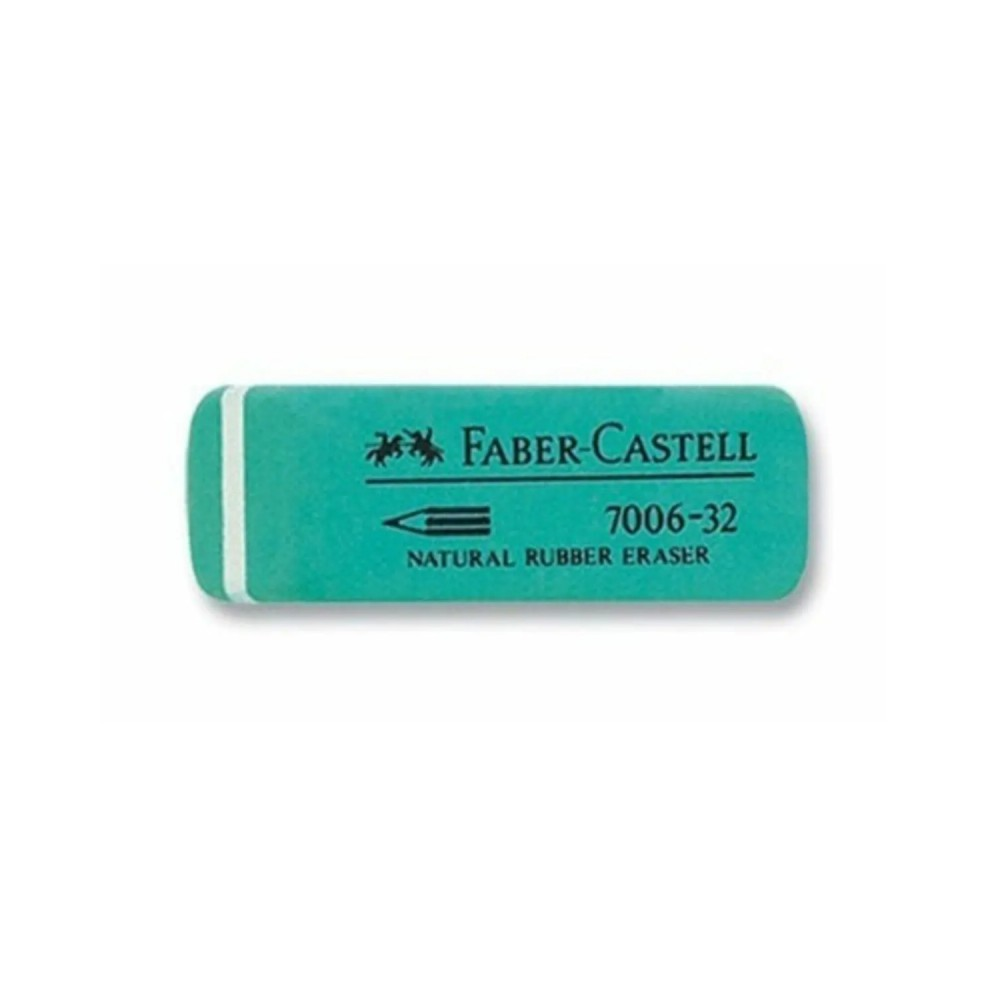 Faber Castell Kauçuk Yeşil Silgi