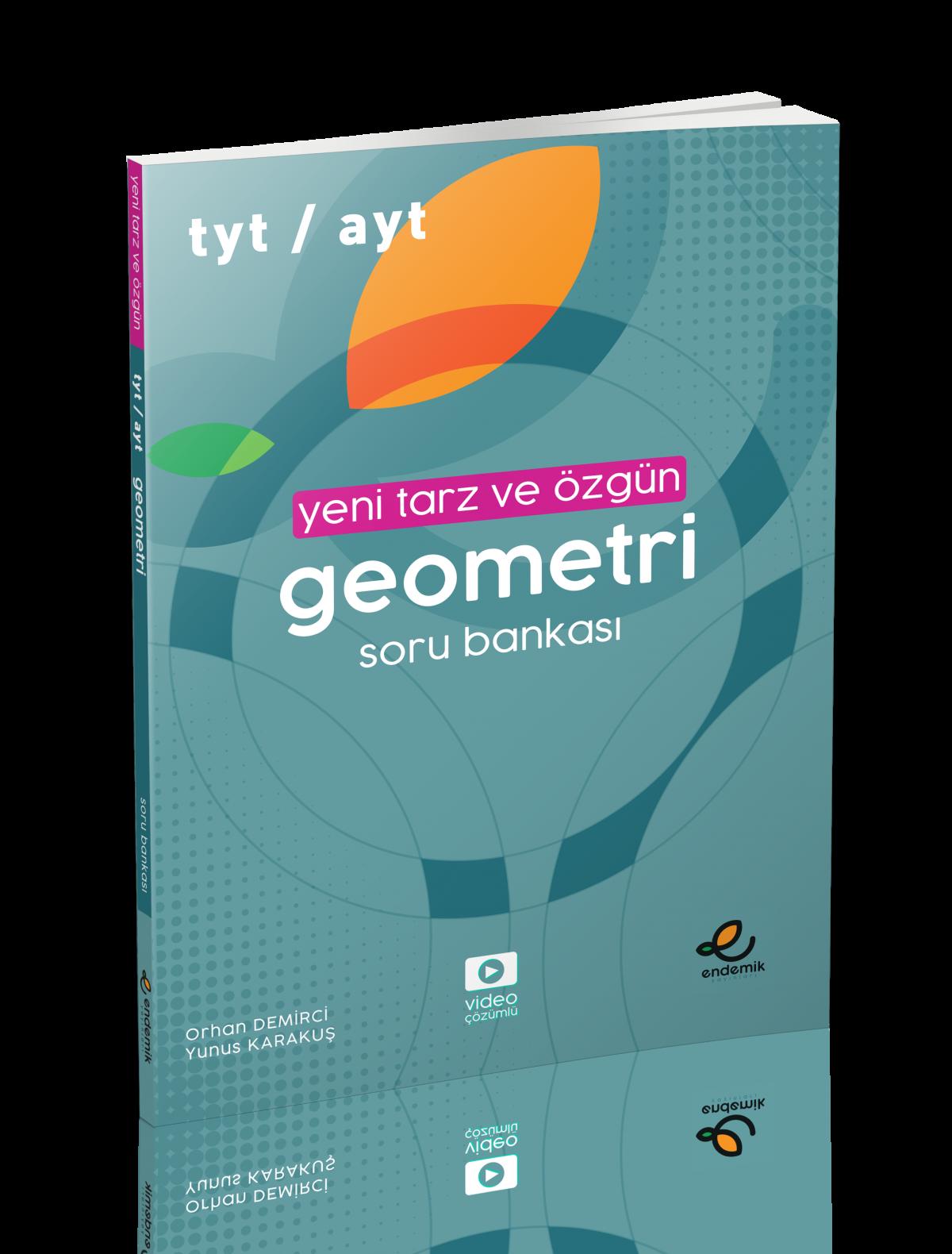 TYT-AYT Yeni Tarz Geometri Soru Bankası - Endemik