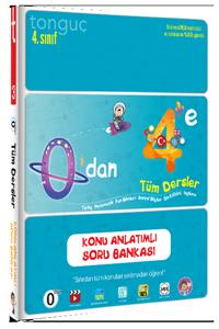 0'dan 4'e Konu Anlatımlı Soru Bankası - Tonguç