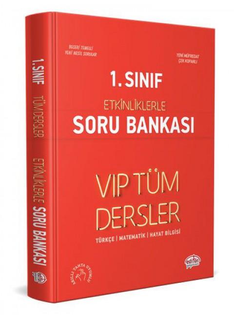 1. Sınıf VIP Tüm Dersler Etkinliklerle Soru Bankası   - Editör