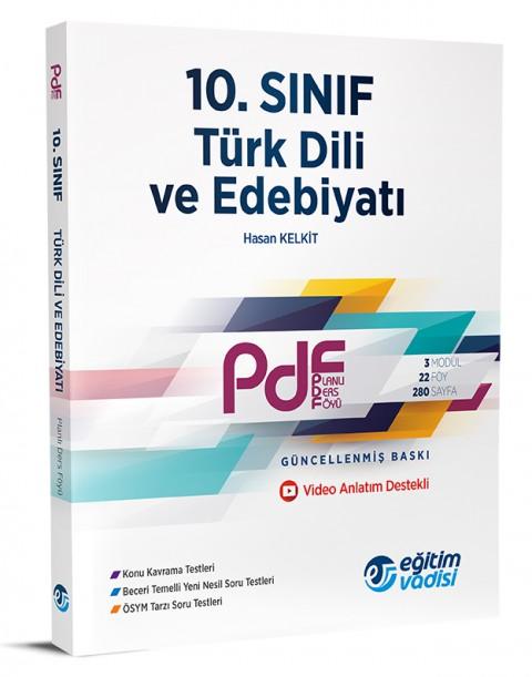 10. Sınıf PDF Türk Dili ve Edebiyatı - Eğitim Vadisi