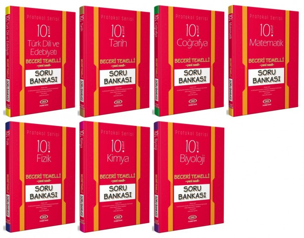 10. Sınıf Protokol Soru Bankası 7'li Set - Data Yayınları