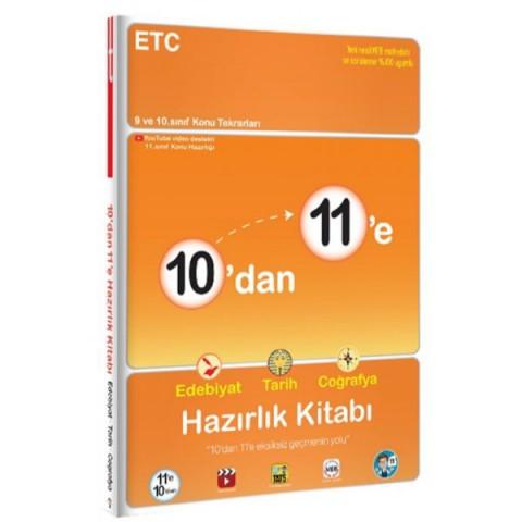 10'dan 11'e Edebiyat Tarih Coğrafya Hazırlık Kitabı - Tonguç