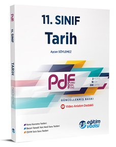 11. Sınıf PDF Tarih - Eğitim Vadisi