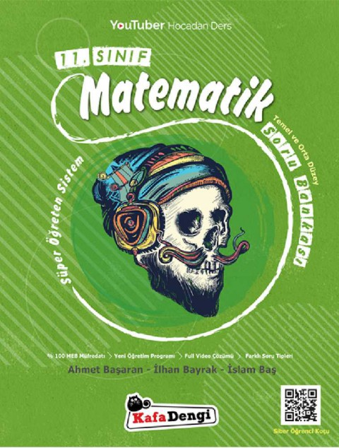 11.Sınıf Süper Öğreten Matematik Soru Bankası  - Kafadengi