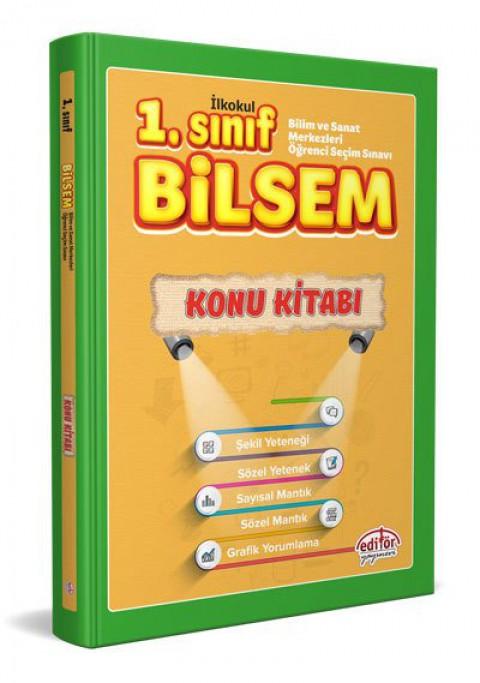 1.Sınıf BİLSEM Hazırlık Konu Kitabı  - Editör