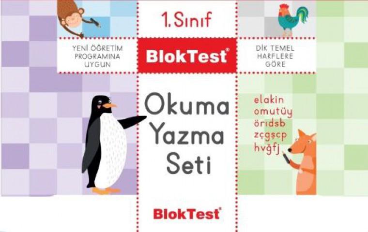 1.Sınıf Okuma Yazma Seti Bloktest - Tudem