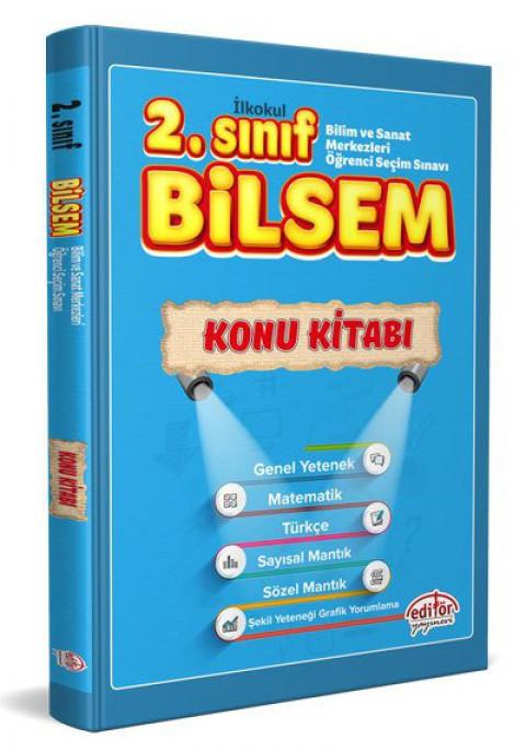 2 Sınıf BİLSEM Hazırlık Konu Kitabı  - Editör