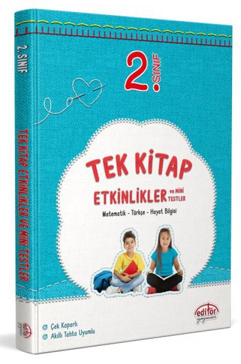 2. Sınıf Tek Kitap Etkinlikler ve Mini Testler - Editör