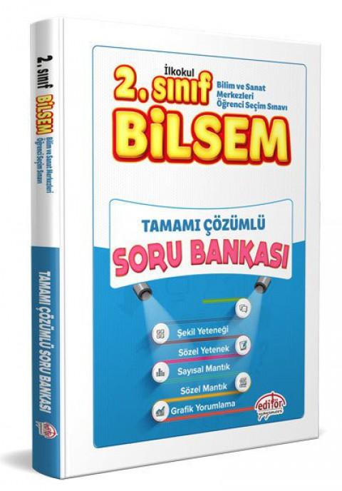 2.Sınıf BİLSEM Tamamı Çözümlü Soru Bankası  - Editör