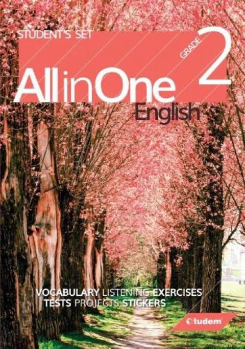2.Sınıf İngilizce Seti All In One  - Tudem