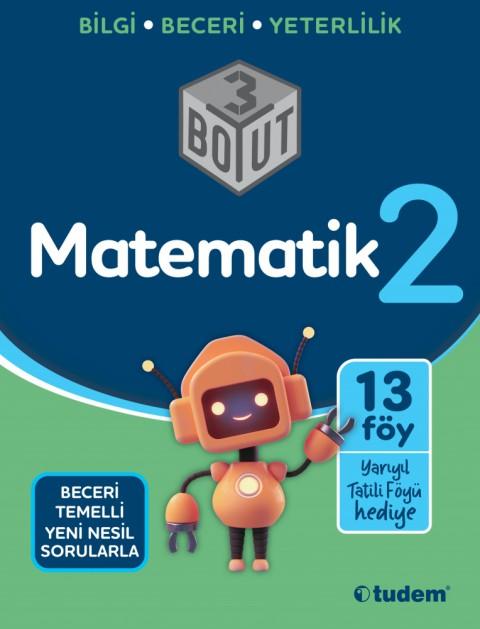2.Sınıf Matematik 3 Boyut - Tudem