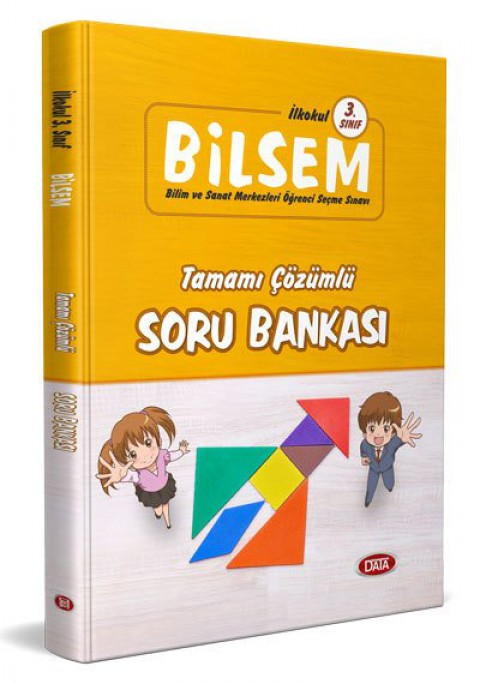 3.Sınıf BİLSEM Tamamı Çözümlü Soru Bankası  - Editör