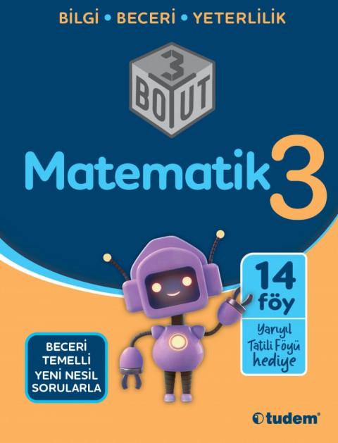 3.Sınıf Matematik 3 Boyut - Tudem