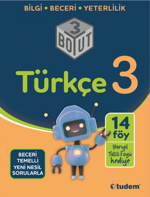 3.Sınıf Türkçe 3 Boyut - Tudem