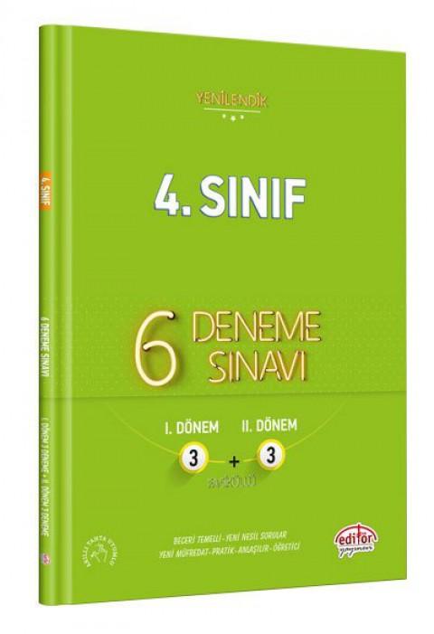 4. Sınıf 6 Fasiküllü 3+3 Deneme  - Editör