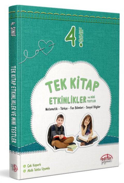 4. Sınıf Tek Kitap Etkinlikler ve Mini Testler - Editör