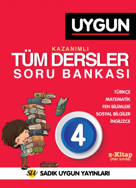 4. Sınıf Tüm Dersler Soru Bankası - Sadık Uygun