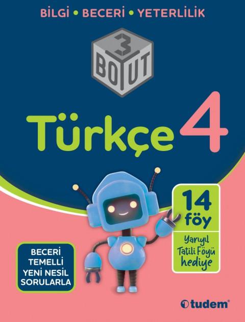 4.Sınıf Türkçe 3 Boyut - Tudem