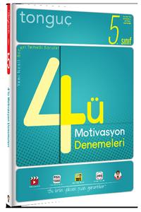 5. Sınıf 4´lü Motivasyon Denemeleri - Tonguç