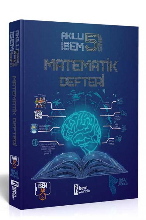 5. Sınıf Akıllı İsem Matematik Defteri  - İsem