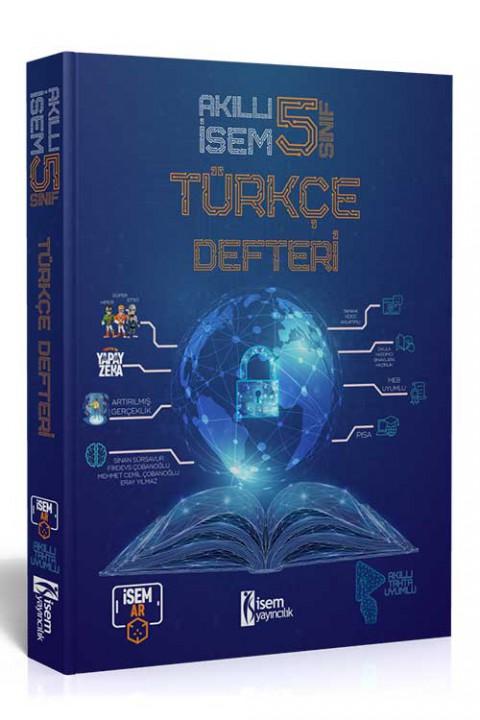 5. Sınıf Akıllı İsem Türkçe Defteri  - İsem