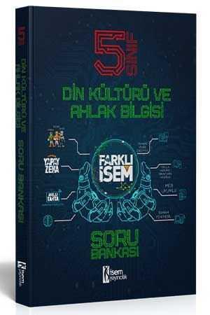 5. Sınıf Farklı İsem Din Kültürü Soru Bankası  - İsem