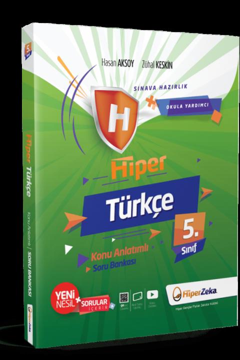 5. Sınıf Hiper Türkçe Konu Anlatımlı & Soru Bankası - Hiper Zeka