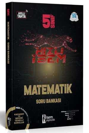 5. Sınıf Hızlı İsem Matematik Soru Bankası  - İsem