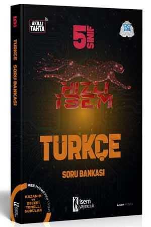 5. Sınıf Hızlı İsem Türkçe Soru Bankası  - İsem