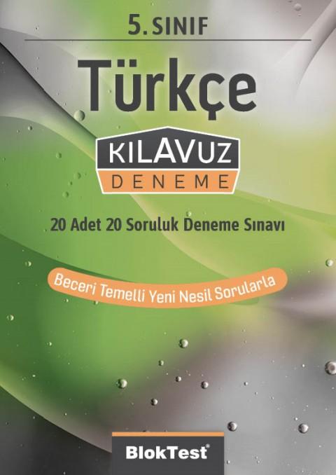 5.Sınıf Bloktest Türkçe Kılavuz Deneme Bloktest - Tudem