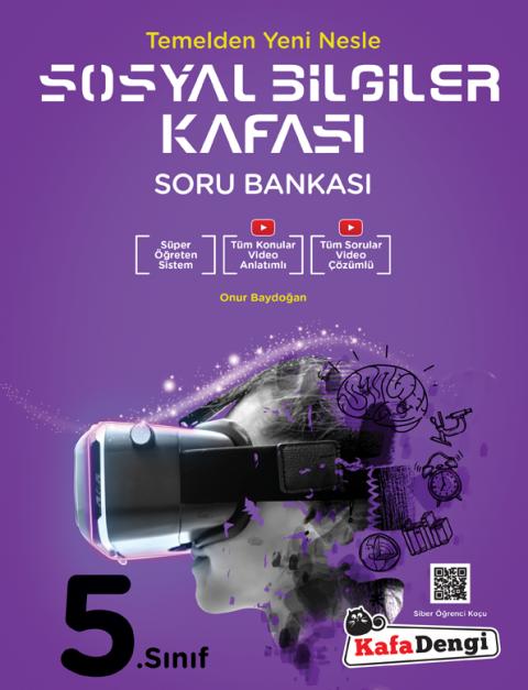 5.Sınıf Sosyal Bilgiler Kafası Soru Bankası  - Kafadengi