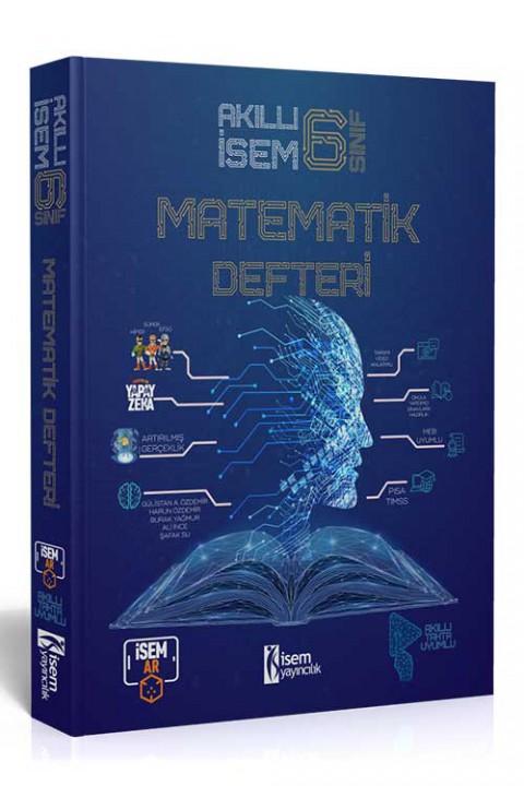 6. Sınıf Akıllı İsem Matematik Defteri  - İsem