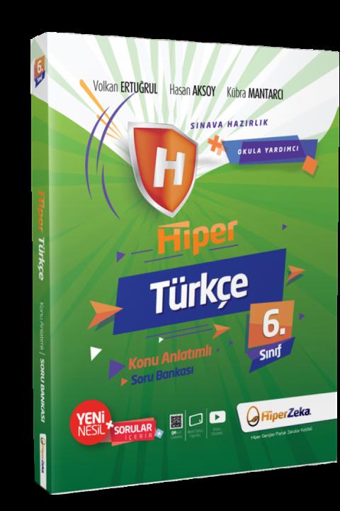 6. Sınıf Hiper Türkçe Konu Anlatımlı & Soru Bankası - Hiper Zeka