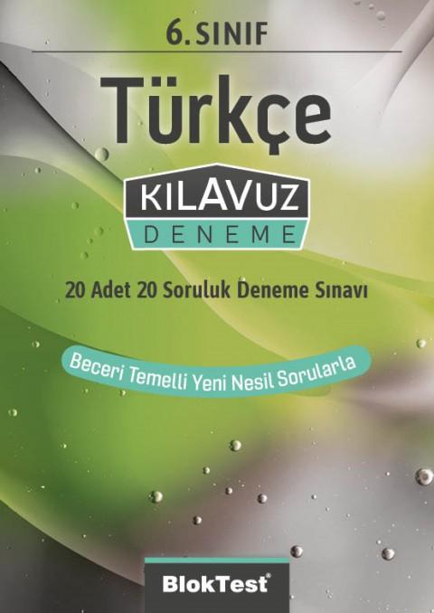 6.Sınıf Bloktest Türkçe Kılavuz Deneme Bloktest - Tudem